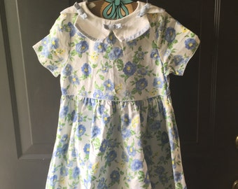 Vintage fifties floral dress 6X