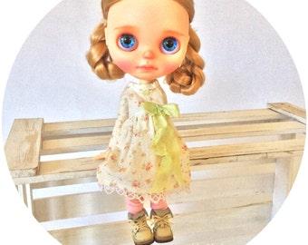 Sweet Floral Dress for Blythe