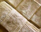 Gold Vintage Sari borders, Sari Trim SR313