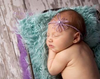 Newborn Flower Tieback