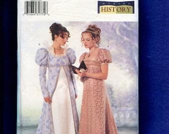 Butterick 6630 Renaissance Gowns Costumes for Women Size 6..8..10 UNCUT