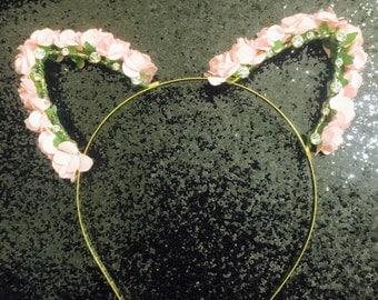 Baby Pink Kitty Ears