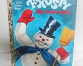 """Little Golden Book, """"Frosty the Snowman"""" Children's Book"""
