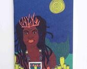 Yemoja (Mami Wata) Pocket Notebook / Sketchbook by Lulu Kitololo