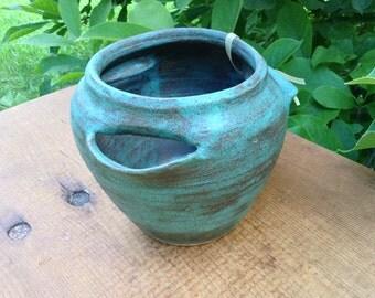 Planter Strawberry Pot Indoor Outdoor Herb Pot