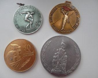 Ussr Soviet souvenir table medal