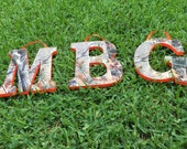 Realtree Camo Wooden Name 4-6 letters