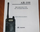 Airband Scanner Maycom AR-108  On Sale Half Off Till end of the year