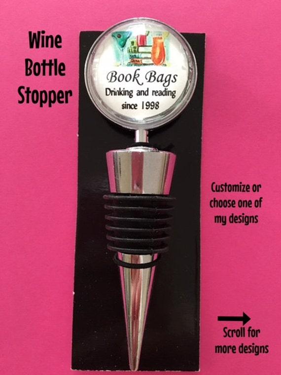 Book Club WIne Bottle Stopper