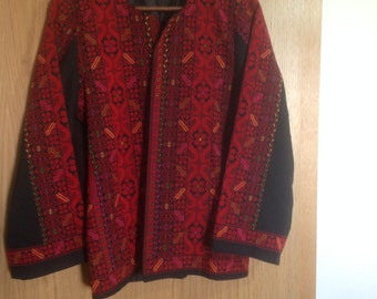 Vintage hand embroidery  jacket balkan