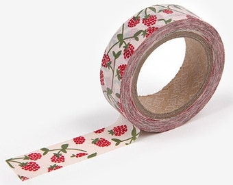 1 roll of washi tape, Raspberry