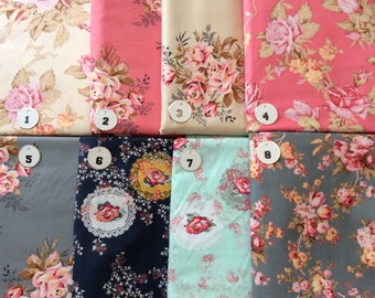 Floral Fabrics -- NOT FOR PURCHASE-- Bridesmaid Fabric Envelopes or Passport Holders-- please Convo me with Questions