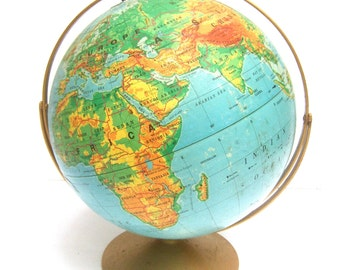 Decorative Collectible Large Scale World Globe