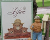 "Lefton ""Smokey the Bear"" series  Collectable Figurine"