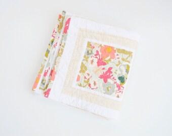 Classic Floral Girl Quilt - Custom