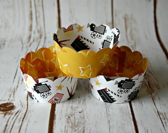 Movie Cupcake Wrappers