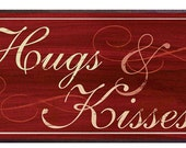 Hugs and Kisses Valentine Decor