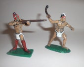 Native Americans of French Indian War/Revolutionary War 54mm Metal Toy Soldiers