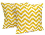 YELLOW PILLOWS. Set.Decorative Pillow Covers. Yellow Pillow. Yellow Pillow Cover, Throw Pillow. Yellow Cushions. 20x20, 18x18 or 16x16 in
