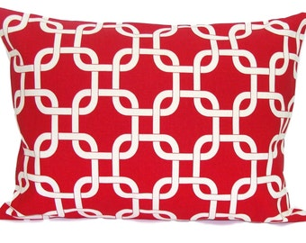 RED PILLOW.12x16 or 12x18 inch.Red Pillow Cover.Decorative Pillows.Red Lumbar Pillow.Red Pillow. Red Lumbar Cushion Cover. Rectangular, cm
