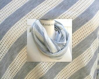 Grey Infinity Scarf, Lightweight Summer Scarves Scarveschic, Teacher Gifts, Winter Scarf  - By PIYOYO