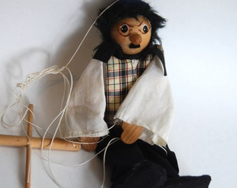 Vintage Puppet, Children's Theatre, Imagination
