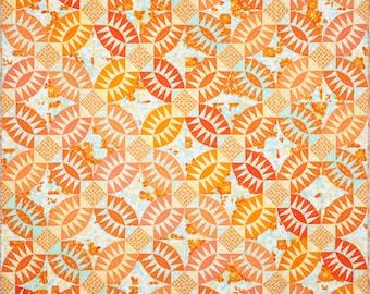 Pickled Orange Peel Quilt Pattern PDF by Emma Jean Jansen - Immediate Download