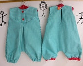 """PDF Pattern  Romper for 18-20"""" waldorf doll , cloth doll , instant download"""