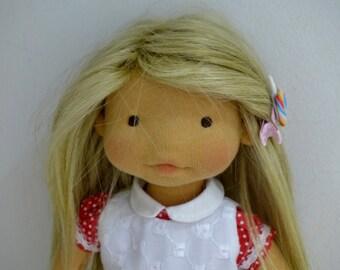 """JESSIE  13 """" waldorf doll"""