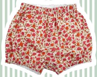 Liberty Print Mini Bloomer   Bubble Shorts for Baby