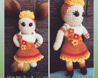 Flareon Pokemon Crochet Doll *PATTERN*