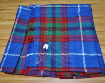 Baby Kilt, 0-6m, in Edinburgh City 100% 10oz Pure New Wool, Handmade in Scotland.
