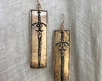 Forged in Fire Earrings