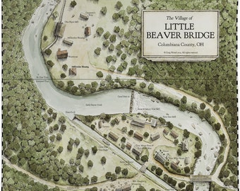 Little Beaver Bridge Map