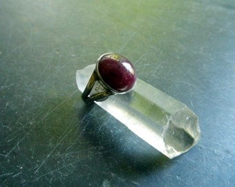 Silver, ring, sterling silver, Ruby, Ruby, red, jewelry