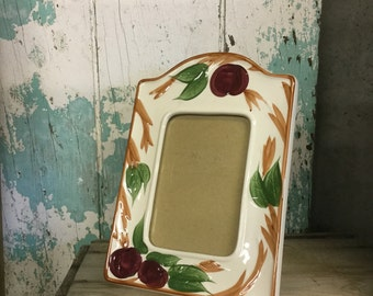 VINTAGE FRANCISCAN APPLE Picture Frame
