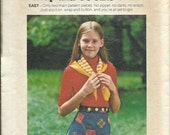 ON SALE VTG Butterick 4620 Girls Easy  A-Line Wrap and Go Skirt, Waist 23 1/2