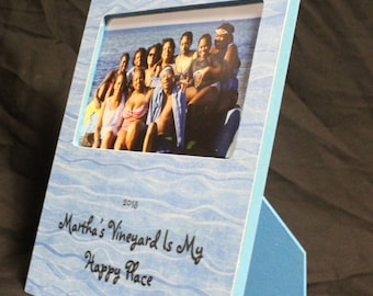 Martha's Vineyard is my Happy Place picture frame