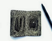 Dark Forest, Altered Book, Miniature