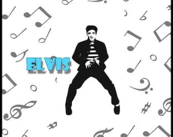Elvis Jailhouse Rock SVG Cut file-Cricut-Silhouette