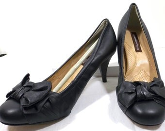 ADRIENNE VITTADINI Black Pumps Size US Size 8M