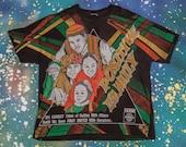1990s POSITIVE FAMILY Hip Hop Rap Shirt Size XL 90s