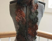 Obsession Scarf in Spanish Moss