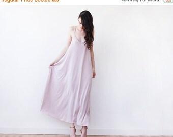 Blush pink maxi straps dress , Maxi blush lining dress