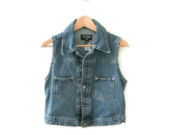 Vintage Ralph Lauren Denim Jean Vest