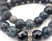 Valentine Day Gift, Men Bracelet, Boyfriend Gift, Man Jewellry, Gift for Him, Husband Gift, Son Gift, Best friend Gift, Birthday Gift, Beads