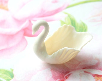 Vintage Lenox Tiny Swan Victorian or Cottage Style Home Decor