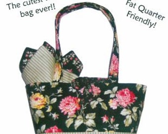 Desk Deli Tote Pattern - Quilts Illustrated