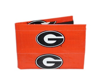 Georgia Bulldogs Duct Tape Wallet