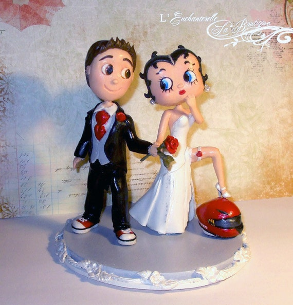 betty boop wedding cake topper wedding cake topper betty boop 11728